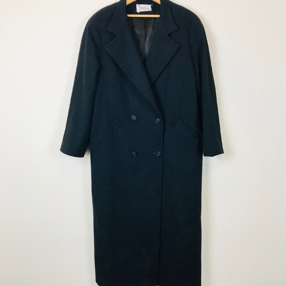 Neiman Marcus Jackets & Blazers - Vintage Full Length Cashmere Wool Blend Coat